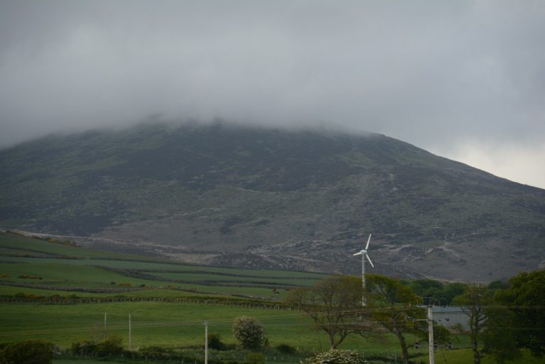 2. Criffel, one of the highest hills in the area at 1872 feet (570 metres), stands above New Abbey.